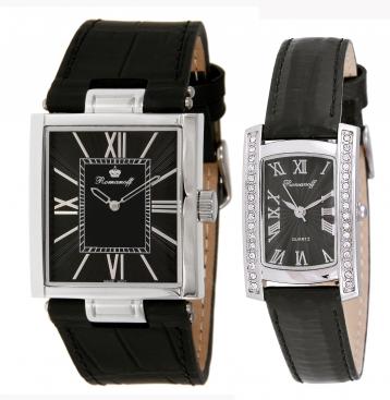Комплект часы модель 10347/3G3BL «Gentleman» и биоэнергетический браслет