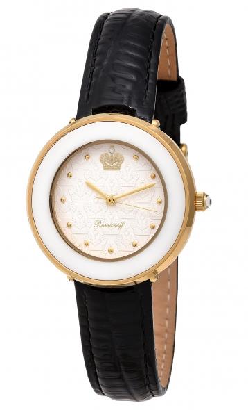 Комплект часы модель 40525A1BLL «Romanoff» и  браслет «Golden moon»