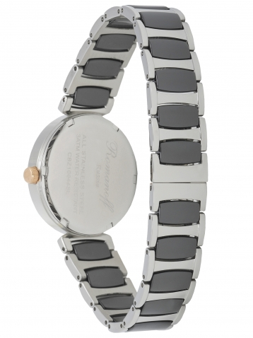 Комплект часы модель 10644T/TB3 и браслет с кристаллами