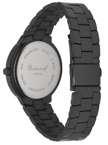Комплект часы модель 3281G3BL и браслет с кристаллами
