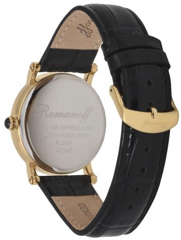Комплект часы модель 40540A5BL «Romanoff» и браслет «Golden moon»