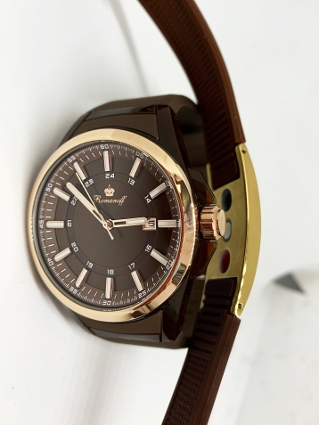 Комплект часы модель 3162T/TB3BL/1 «Romanoff» и биоэнергетический браслет