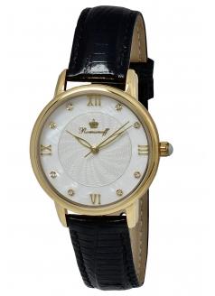 Комплект часы модель 40547A1BL «Romanoff» и браслет «Golden moon»