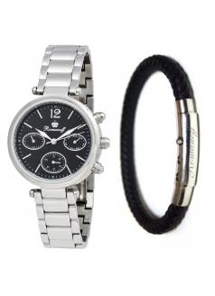 Комплект часы модель 10646G3 «Romanoff» и браслет «Stylish steel»